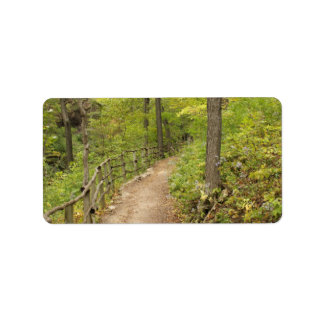 Around the Bend Personalized Address Labels