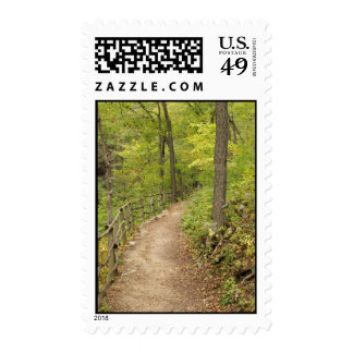 Around the Bend Postage Stamp