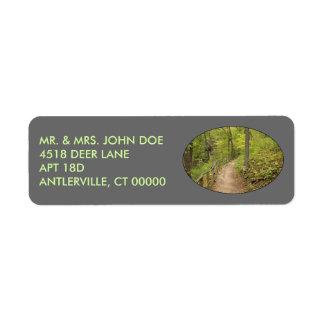 Around the Bend Return Address Label