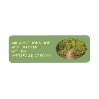 Around the Bend Return Address Labels