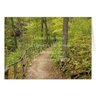 Around the Bend Stationery Note Card