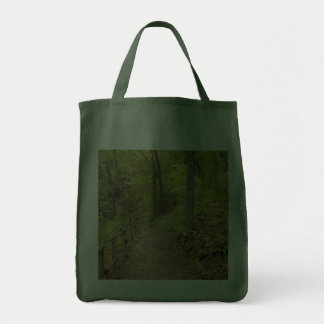 Around the Bend Tote Bags