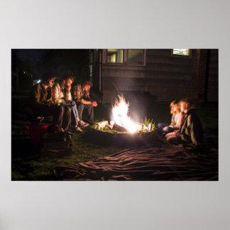 Around the Bonfire Poster