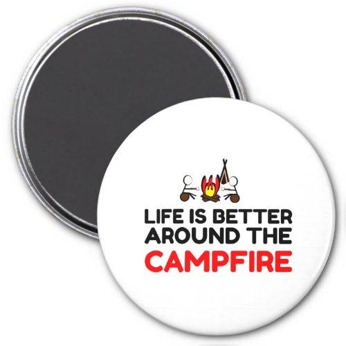 Around The Campfire Magnet