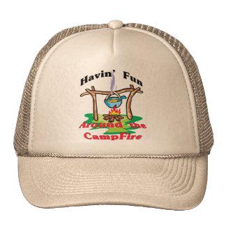 Around the Campfire Trucker Hat