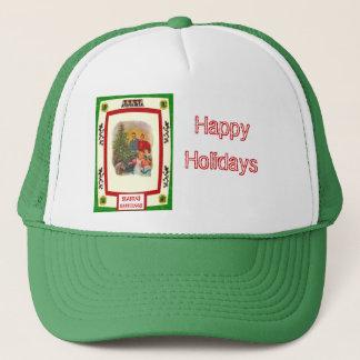 Around the Christmas Tree Trucker Hat
