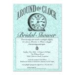 Around the Clock Bridal Shower Invitation