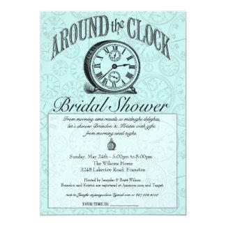 Around The Clock Invitations Announcements Zazzle