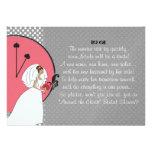 """Around the Clock"" Bridal Shower Invitation"
