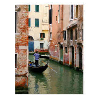 Around the Corner Gondolier Postcard