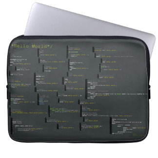 Around the Hello World Laptop Bag