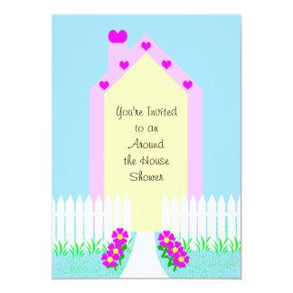 Around the House Bridal Shower Invitation -- House