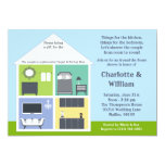 Around the House Shower Bridal Shower Announcements