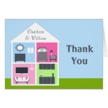 Around the House Wedding Shower Thank You Greeting Cards