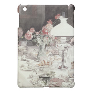 Around the Lamp at Evening, 1900 (w/c on paper) iPad Mini Case