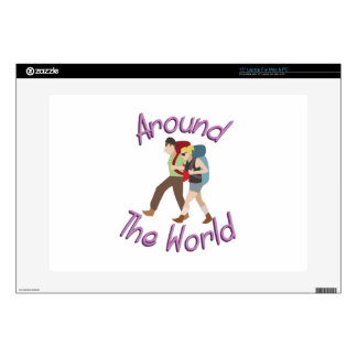 "Around the World 15"" Laptop Skins"