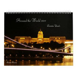 Around the World 2011 Calendar