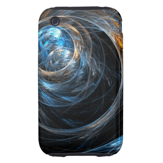 Around the World Abstract Art iPhone 3G / 3GS iPhone 3 Tough Cover