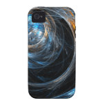 Around the World Abstract Art iPhone 4/4S Vibe Case-Mate iPhone 4 Cover