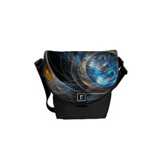 Around the World Abstract Art Mini Bag Courier Bags
