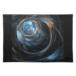 Around the World Abstract Art Placemat