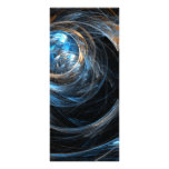 Around the World Abstract Art Rack Card