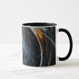 Around the World Abstract Coffee Mug