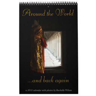 Around the world...and back again wall calendars