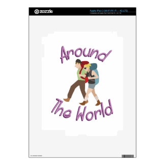 Around the World Decal For iPad 3