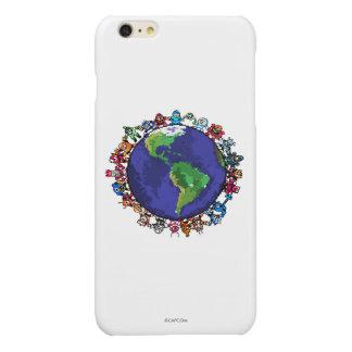 Around the World Glossy iPhone 6 Plus Case