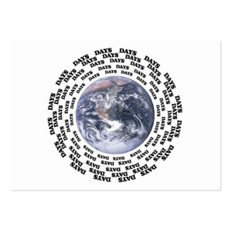 Around the World in 80 Days Large Business Card