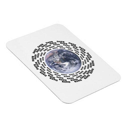 Around the World in 80 Days Rectangular Magnets