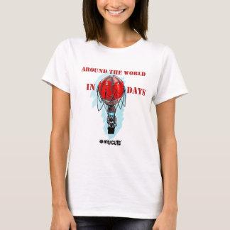around the world in eighty day air balloon T-Shirt