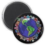 Around the World Magnet