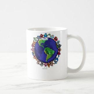 Around the World Coffee Mugs