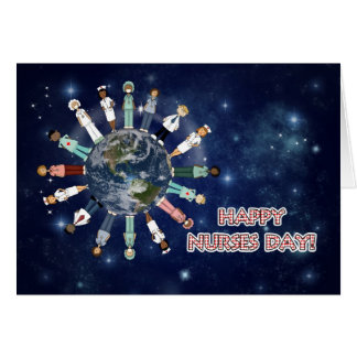 Around the World Nurses Day | From Group Greeting Card