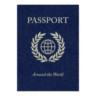 around the world : passport card