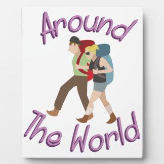 Around the World Plaque