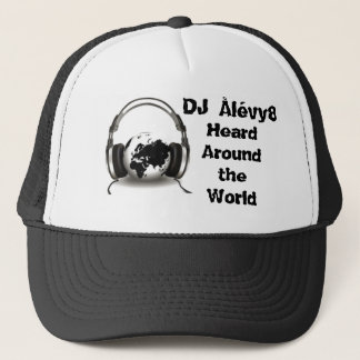 Around the World Trucker Hat