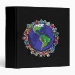 Around the World Vinyl Binders