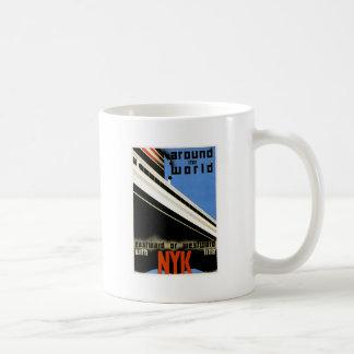 Around the World with the NYK Line Coffee Mug