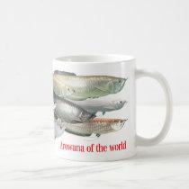 arowana of the world coffee mug
