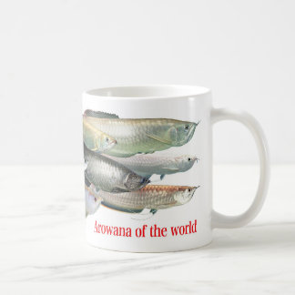 arowana of the world coffee mug