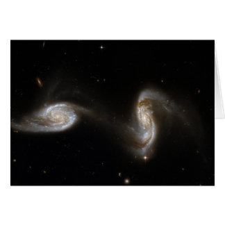 ARP240 Galaxies Hubble Space Telescope Card