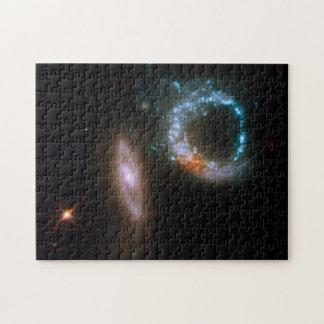ARP 147 Galaxies Jigsaw Puzzle