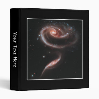 Arp 273 Galaxy Pair (Hubble Telescope) 3 Ring Binder