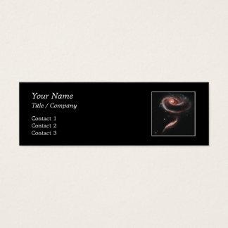 Arp 273 Galaxy Pair (Hubble Telescope) Mini Business Card