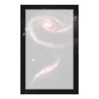 Arp 273 Galaxy Pair (Hubble Telescope) Stationery
