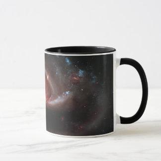Arp 273 Interacting Galaxies (Hubble Telescope) Mug
