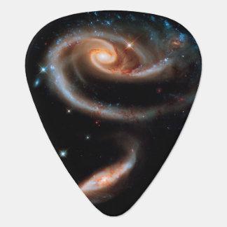 Arp 273 Rose Galaxies Guitar Pick